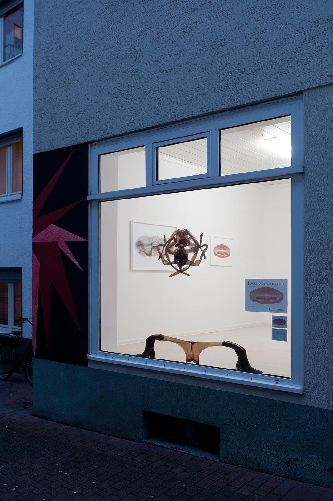 Aussenansicht der KleppArt in Paderborn bei Abenddämmerung