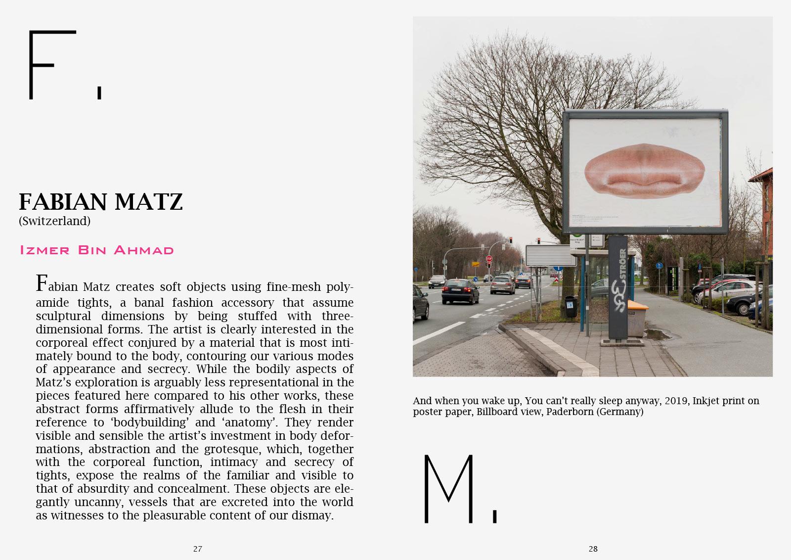 ContemporaryIdentities International Art Magazine Fabian Matz