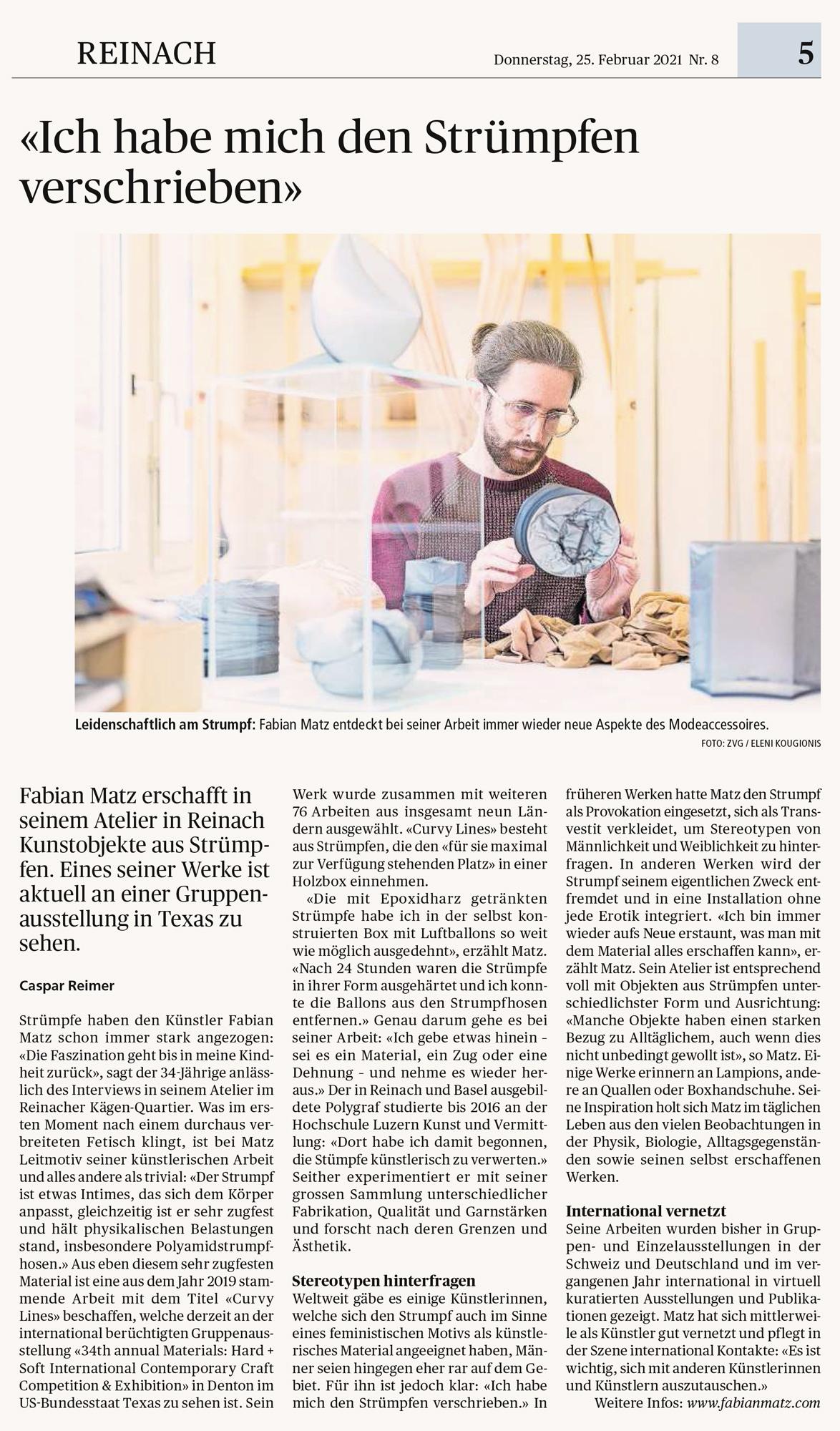 Wochenblatt Porträt Fabian Matz